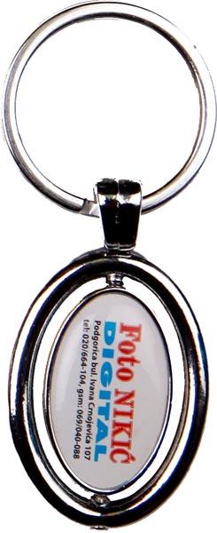 Metalni - stiker privezak