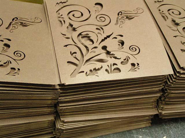 Graviranje papira